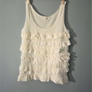 J Crew Cotton Tank Top